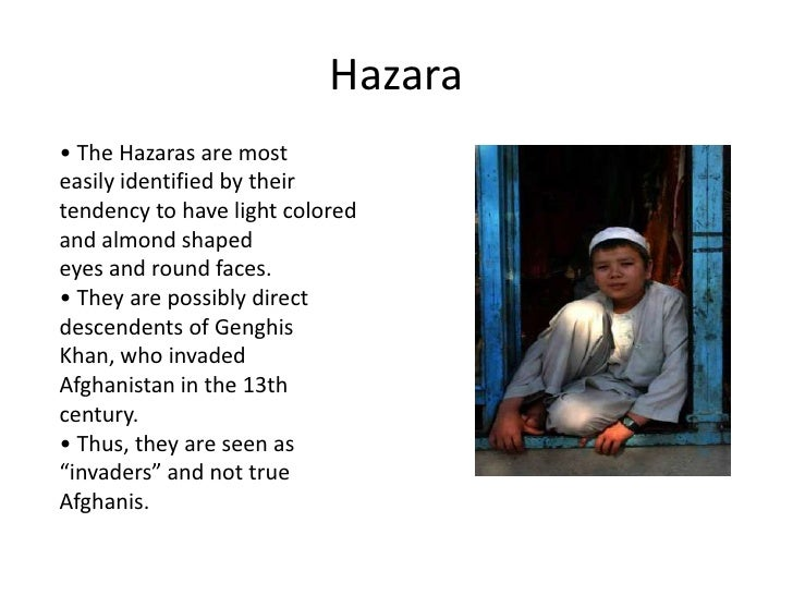 hazara pashtun relationship problems