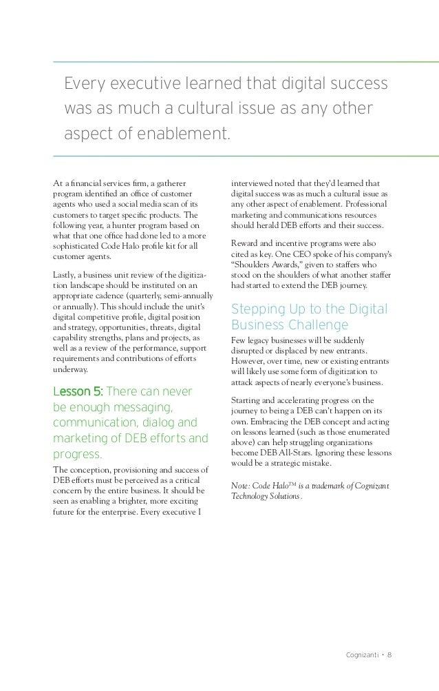 The Last Word: Enabling the Digitally Enhanced Business