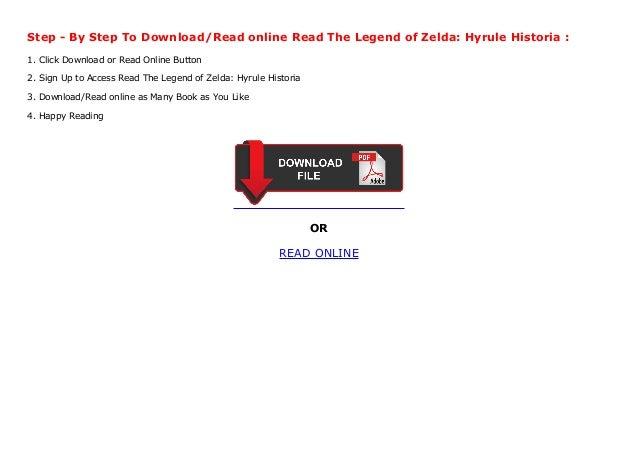 Read The Legend Of Zelda Hyrule Historia