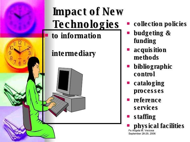 technology impact present generation Technological addiction is leading to a more isolated generation, overly dependent on technology modern technological advances, particularly the internet and ipod.