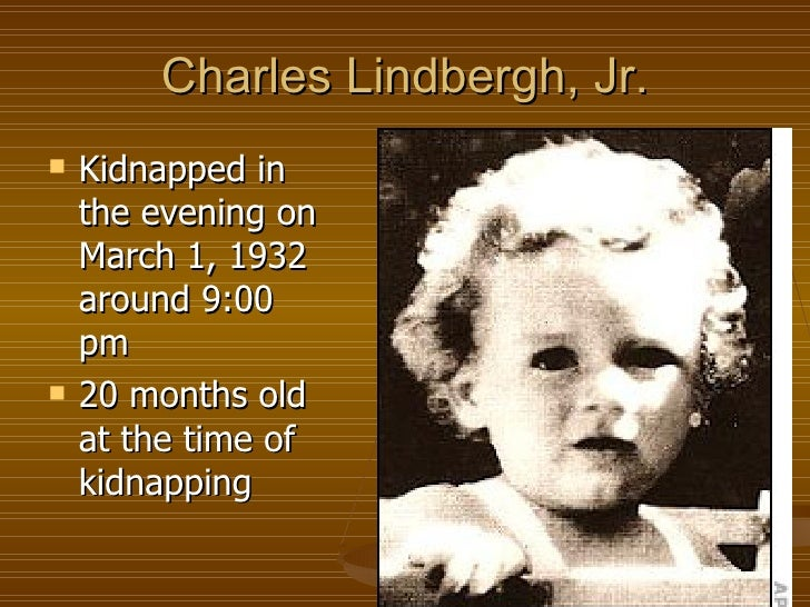 the lindbergh kidnapping essay
