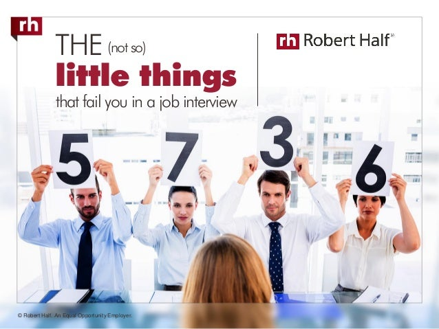 failed your job interview the not so little things may be to blame