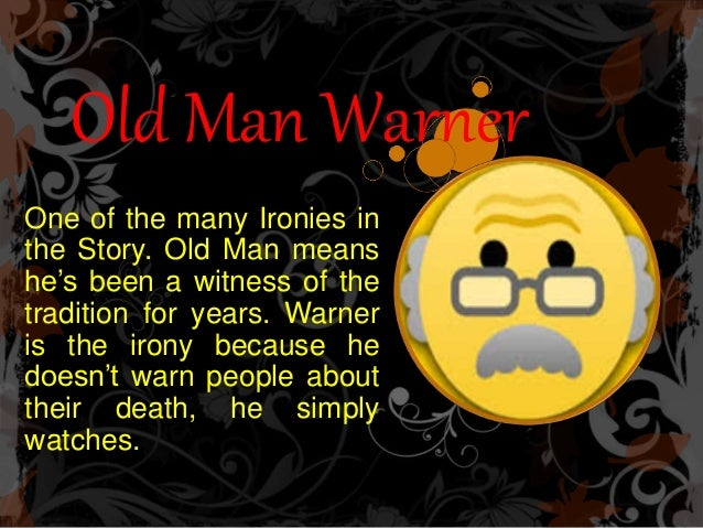 old man warner in the lottery
