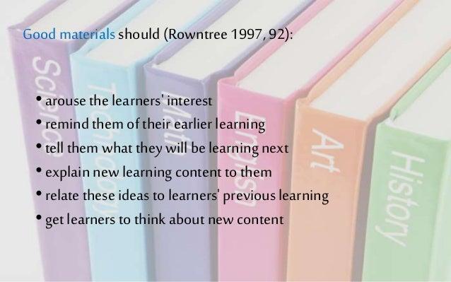 advantages of instructional materials