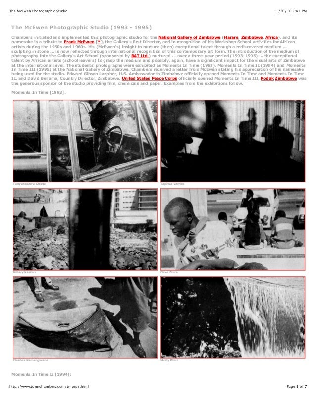 11/20/10 5:47 PMThe McEwen Photographic Studio Page 1 of 7http://www.tomrchambers.com/tmceps.html The McEwen Photographic ...