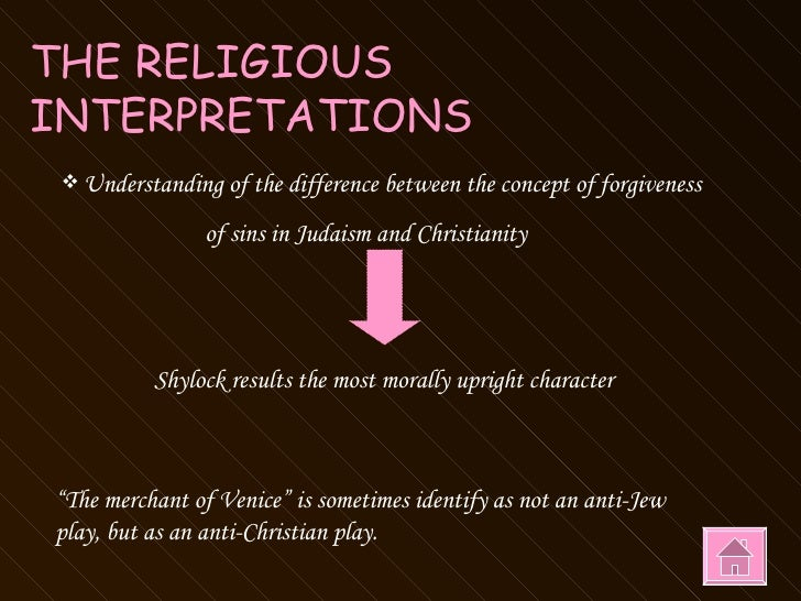 relationship between jews and christians in merchant of venice