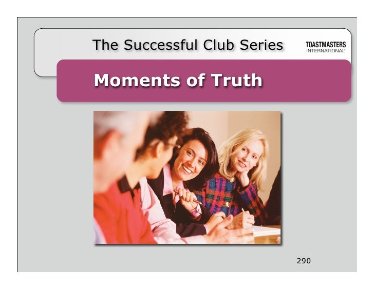 The Successful Club Series  Moments of Truth                                       290                         290 Moments...