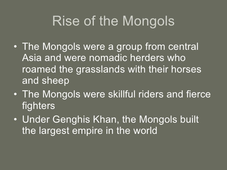 how did the mongols affect russia