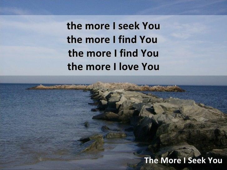 Love & seek
