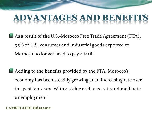 Accord Maroc Usa