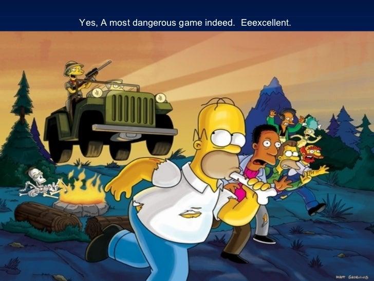 Most dangerous game and the destructors