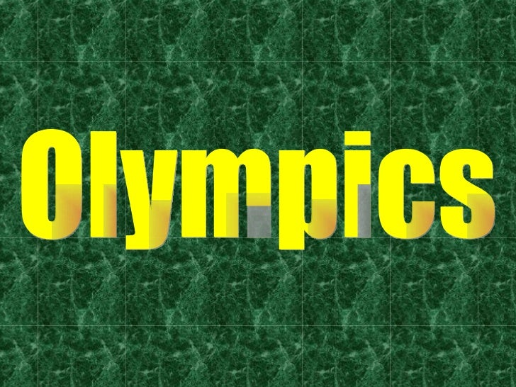 The Most Important Thing In The Olympic Games Is Not To Win But To Ta