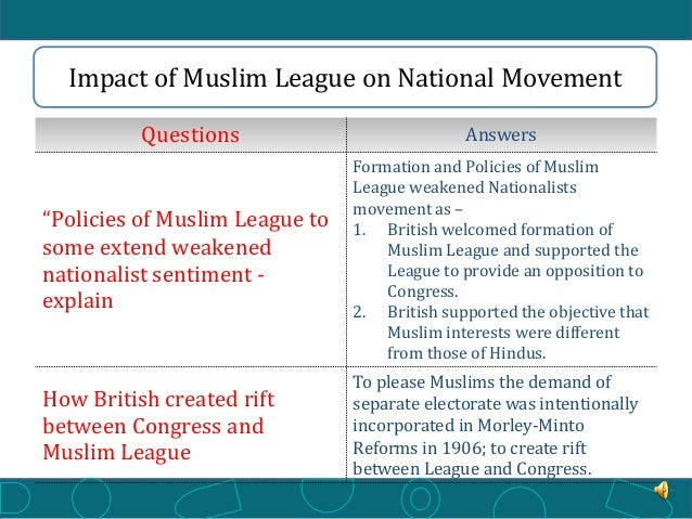 the rising of the muslim league The rise of muslim foreign fighters the rise of  bers of the arab league– sponsored army of salvation (jaysh al-inqadh) and thus not private vol- unteers  of.