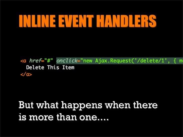 Bad JavaScript-fu