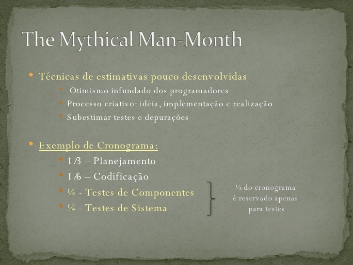 mythical man month essays The mythical man-month: essays on software engineering, anniversary edition ebook: frederick p brooks jr: amazoncouk: kindle store.