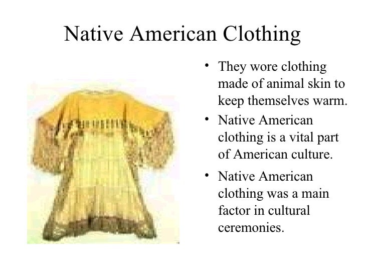 The Native American Slide Show
