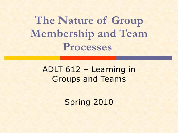 the nature of teams and groups How to distinguish the important differences between teams and work groups approach development of your team or group will differ depending on the nature of.