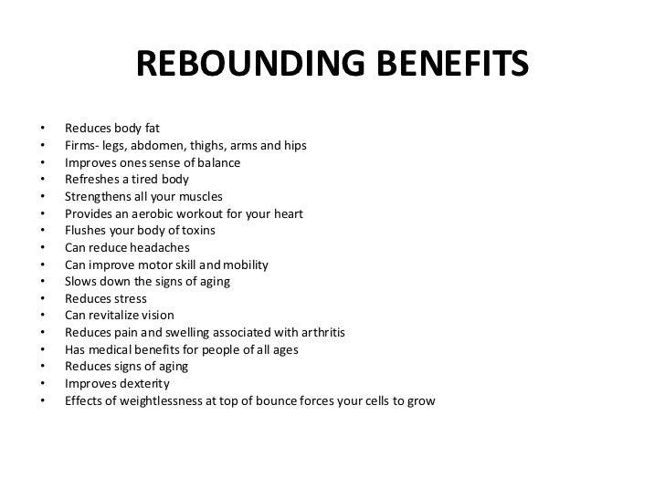 REBOUNDING BENEFITS PDF DOWNLOAD