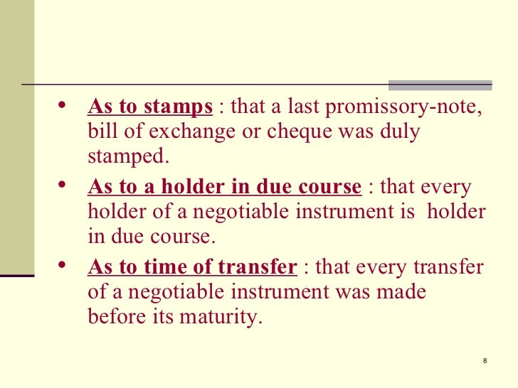 negotiable instruments lecture notes Lectures on business law and the negotiable instruments law by  one week after each lecture the reports were distributed to each member, thus allow ing time for a .