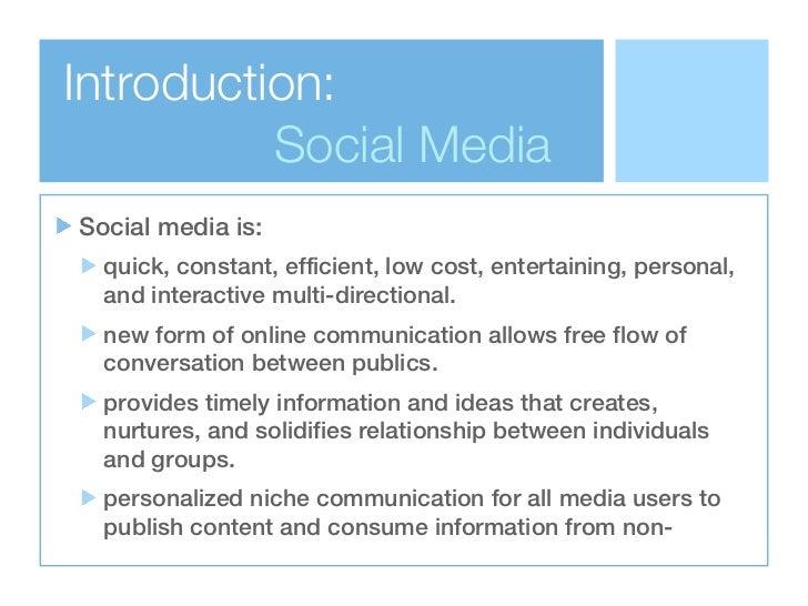 relationship between public relations and social media
