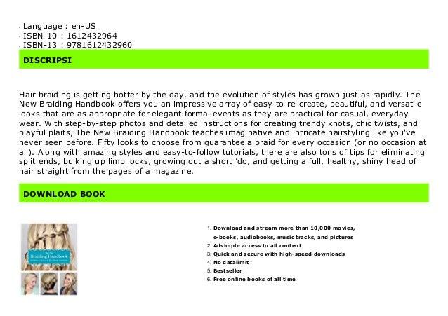 Pdf The New Braiding Handbook 60 Modern Twists On The Classic Ha