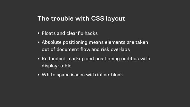 The New CSS Layout - Dutch PHP Conference Slide 3