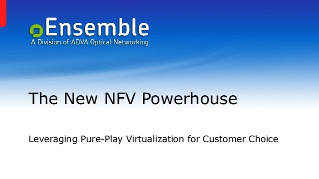 The New NFV Powerhouse Leveraging Pure-Play Virtualization for Customer Choice