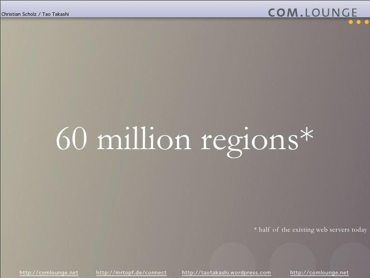 Christian Scholz / Tao Takashi                            60 million regions*                                             ...
