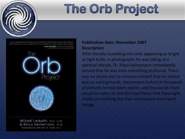 The Orb Project B