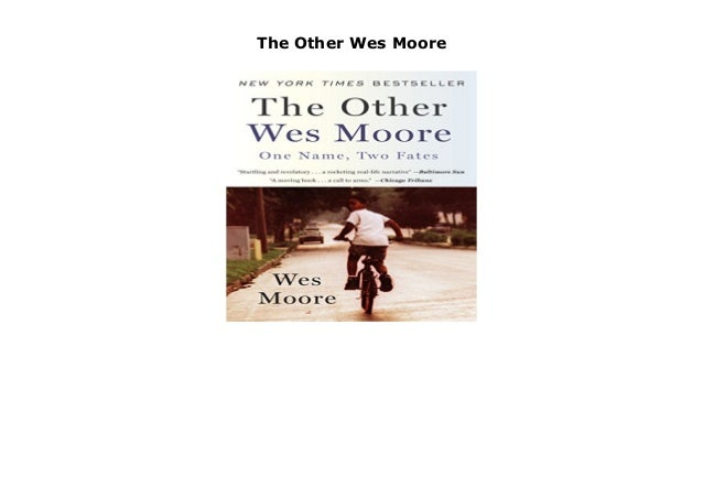 The Other Wes Moore Ch. 7 and 8 Journal Prompts - blogger.com