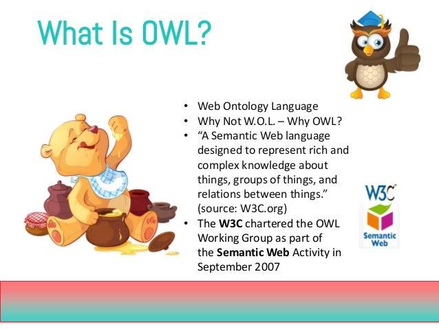 Web using owl information language ontology the pdf representing