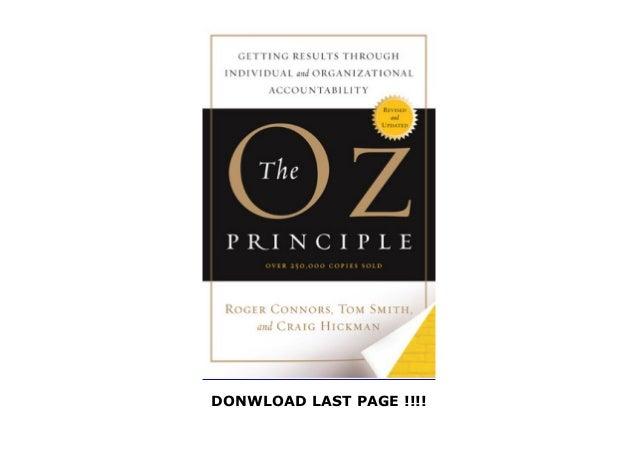 The oz principle pdf free download for windows 7