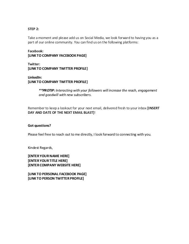 Email Marketing Template Samples | SendblasterEmail Marketing ...