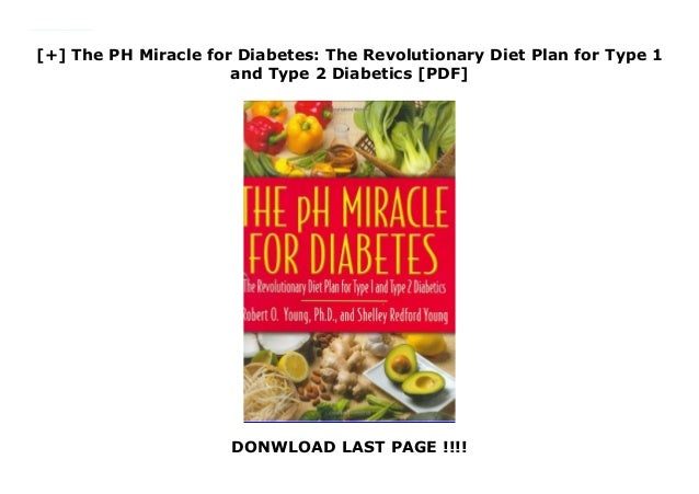 The Ph Miracle For Weight Loss Pdf