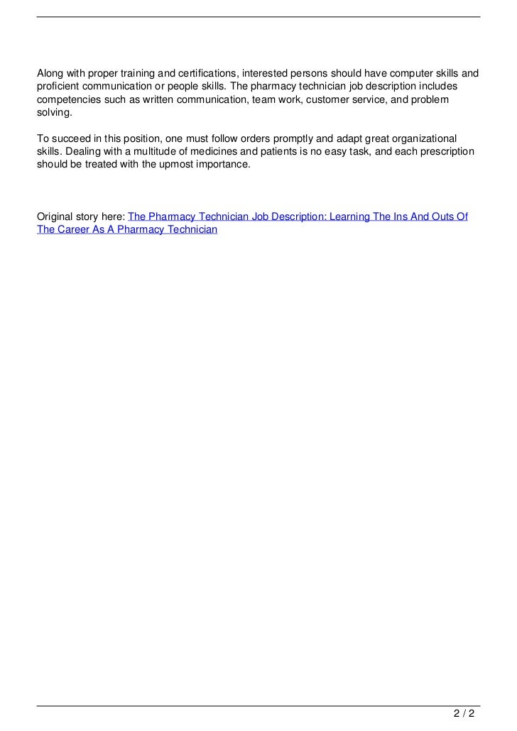 it technician job description pdf