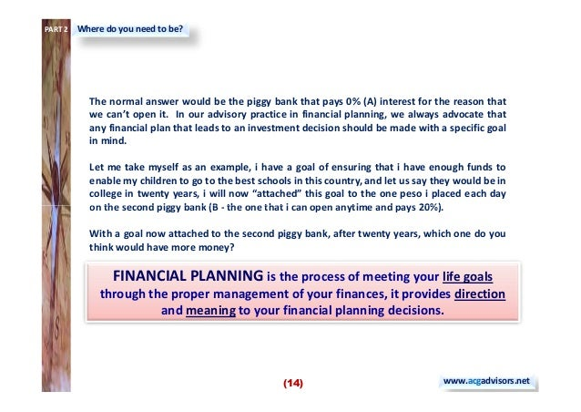 The Pinoy Financial Planning Guide Book