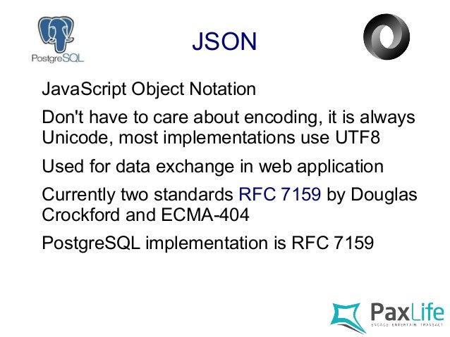 נפלאות The PostgreSQL JSON Feature Tour PP-26