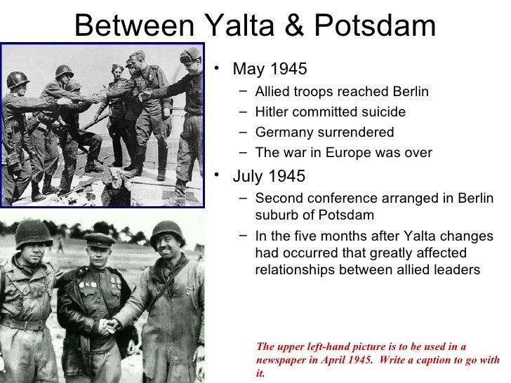 The Potsdam Conference Web