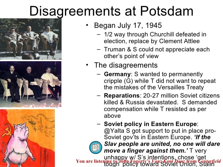 The Potsdam Conference Web