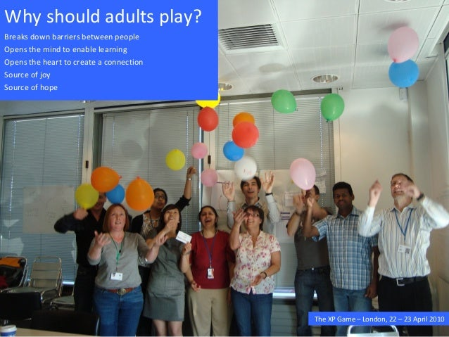 How can we combine work with play?