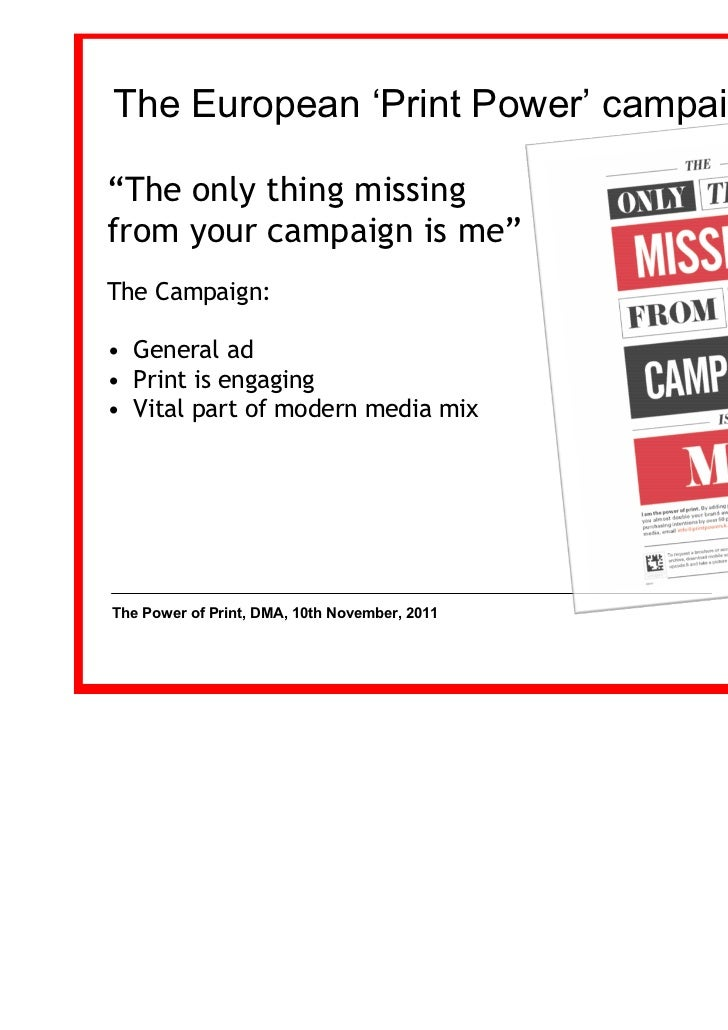 power of print media Module - 2 print media notes mass communication 49 introduction to print media why do people read newspapers  they read newspapers for a variety of.