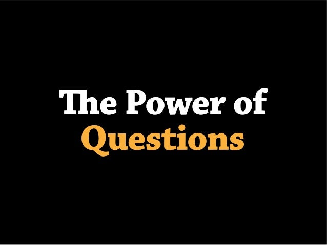 The Power of Questions during the Sales Process