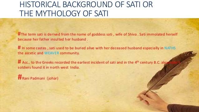 sati meaning in english