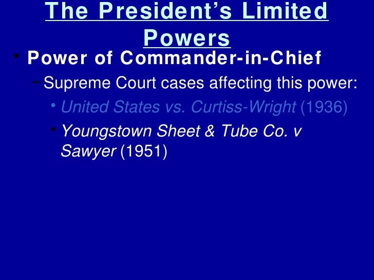 the background of the court case youngstown sheet tube co vs sawyer The us supreme court decided medellin v texas, a case in which a  concurrence in youngstown sheet and tube co v sawyer,  background for recent.
