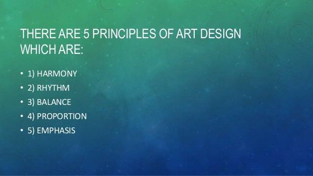 3 Principles Of Art : The principles of art design