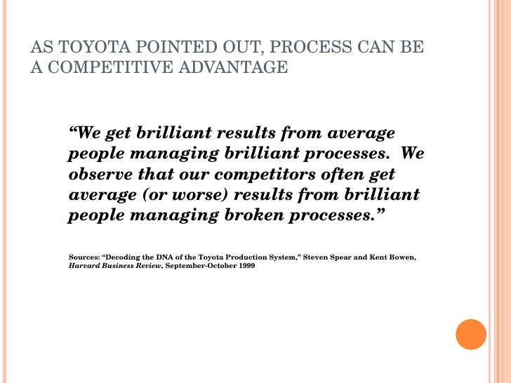 Toyota: On the Way to Number One