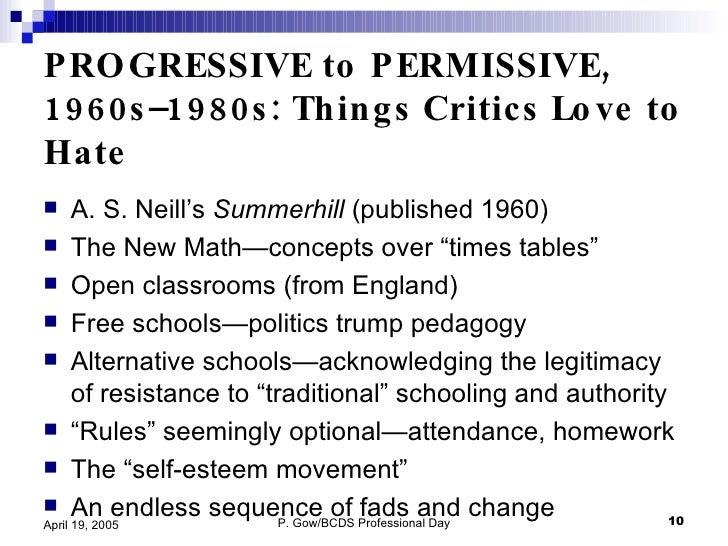 a comparison of tradition and progressive education Progressive schools are different from traditional 5 facts about progressive school which many consider the flagship of progressive education.