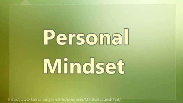 The Proper Mindset to Start Your Business Slide 3