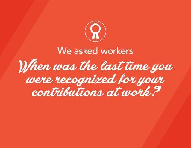 The Psychology of Recognition at Work Slide 3