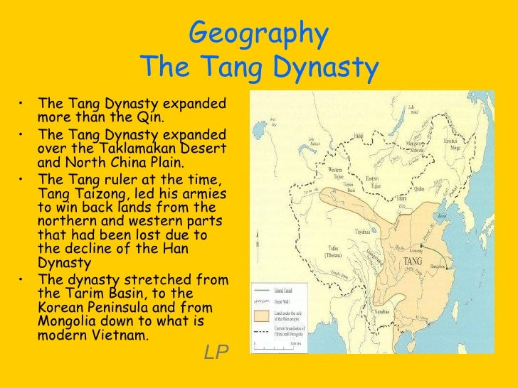 The qin and tang dynasties 12 geography the tang dynasty sciox Gallery